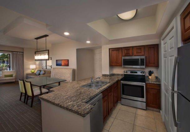 Marriott Grande Vista Kitchen