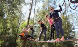 Admission to Zipline and Adventure Park for 1, 2, or 4 at Orlando Tree Trek Adventure Park (Up to 23% Off)