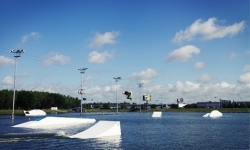 Beginners' Wakeboard Lesson with 4-Hour Cable Pass for One or Two at Orlando Watersports Complex (Up to 25% Off)