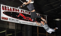 Flying-Trapeze Class for One, Two, or Four at Orlando Circus School and Orlando Flying Trapeze (Up to 53% Off)