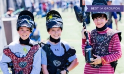 One-Day Membership with Equipment Rental for One, Four, Eight, or Ten from Paintball Tickets (Up to 81% Off)