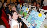 Wine and Painting Class for One or Two at Wine and Canvas Orlando (Up to 43% Off)