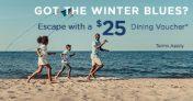 Mystic Dunes Resort Promo Code – $25 Dining Credit
