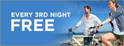 Barefoot'n Resort Promo Code – Every 3rd Night Free