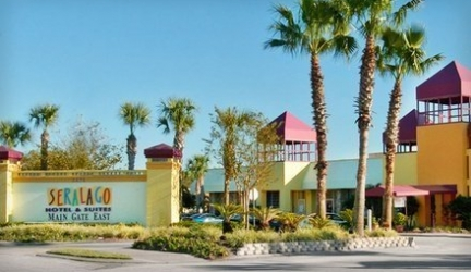 Stay at Seralago Hotel & Suites Main Gate East in Kissimmee, FL, with Dates into July – Save 22%